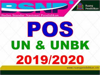 pos un dan unbk tahun 2019-2020