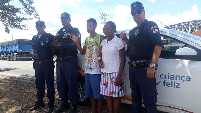Guarda Municipal encontra em Jacobina jovem que estava desaparecido em Gavião