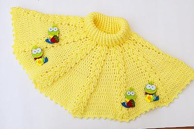 2 - Crochet ganchillo IMAGEN Capita amarilla fácil de hacer. Muy linda.MAJOVEL CROCHET.