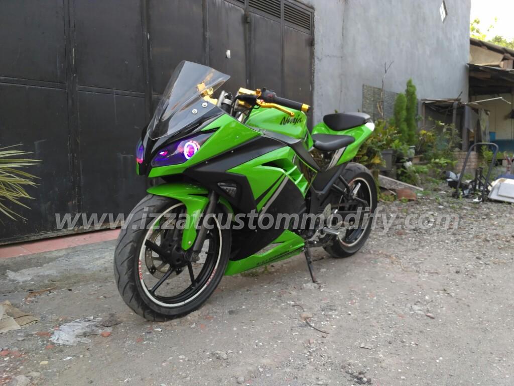 Bodykit Fairing Yamaha Byson Model Ninja 250 Fi Izzat Custom Modify