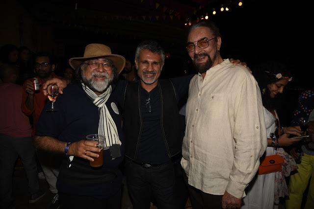 Prahlad Kakkar, Arjun Khanna and Kabir Bedi