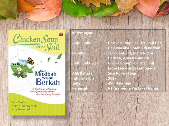 Buku Chicken Soup for the Soul: Dari Musibah Menjadi Berkah