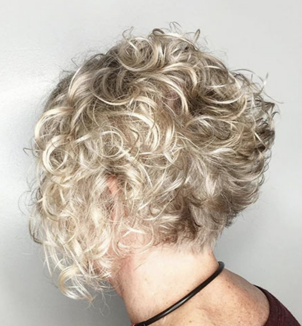 short curly hair for women