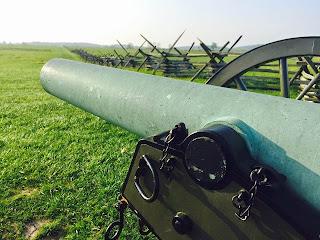 Cannon at Gettysburg Battlefield