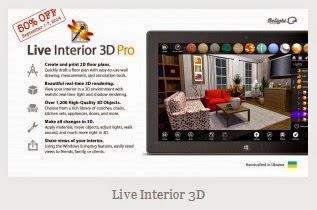 Live interior 3d progettazione completa arredare gli for Software per arredare casa 3d