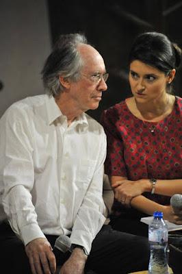 Emilia Klayn with Ian McEwan