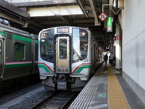 【ダイヤ改正で廃止!】E721系の東北本線 快速仙台シティラビット 福島行き