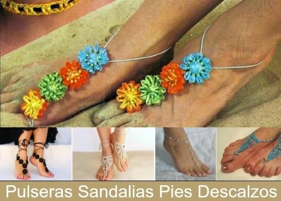 Como Adornar los pies descalzos en la Playa o Piscina