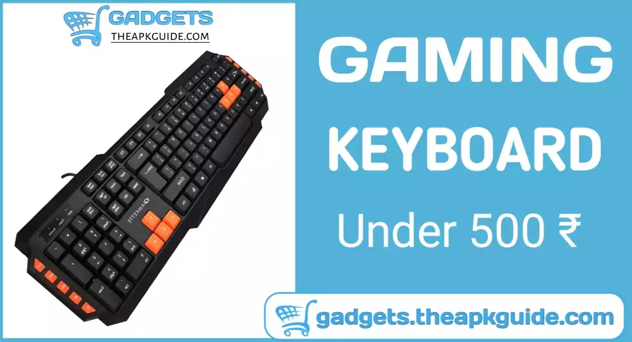 Amkette Xcite Pro Gaming keyboard Review