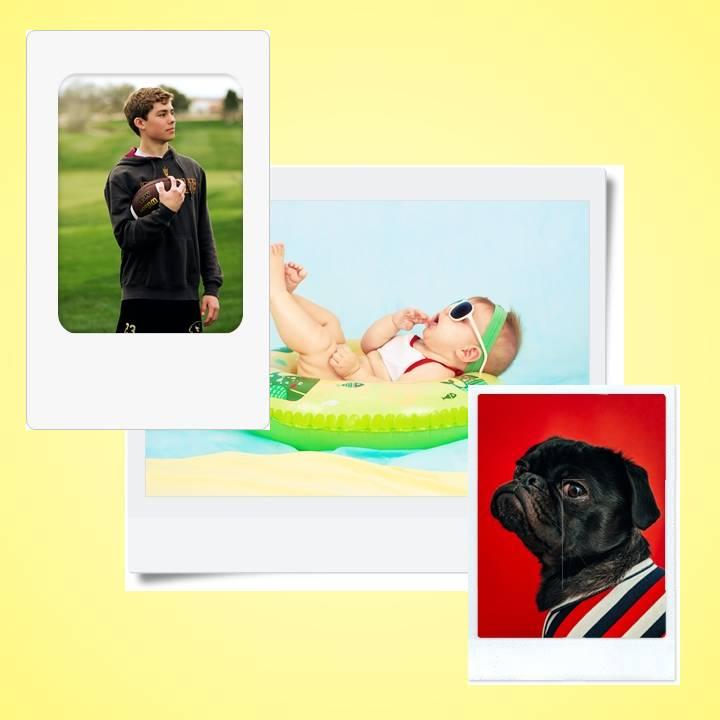 Cara membuat foto Polaroid