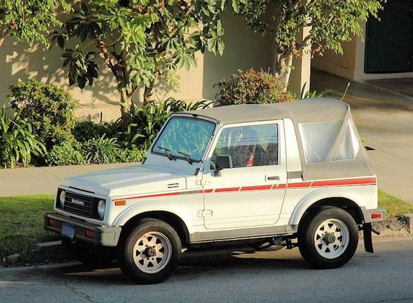 1987 Suzuki Samurai Soft-top