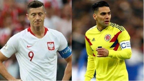 كولومبيا تحي امالها في التاهل بالفوز على بولندا 3-0