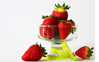 Fresas en copa