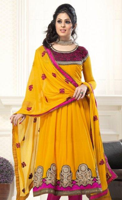 2013 Latest Anarkali Frocks Fashion Point