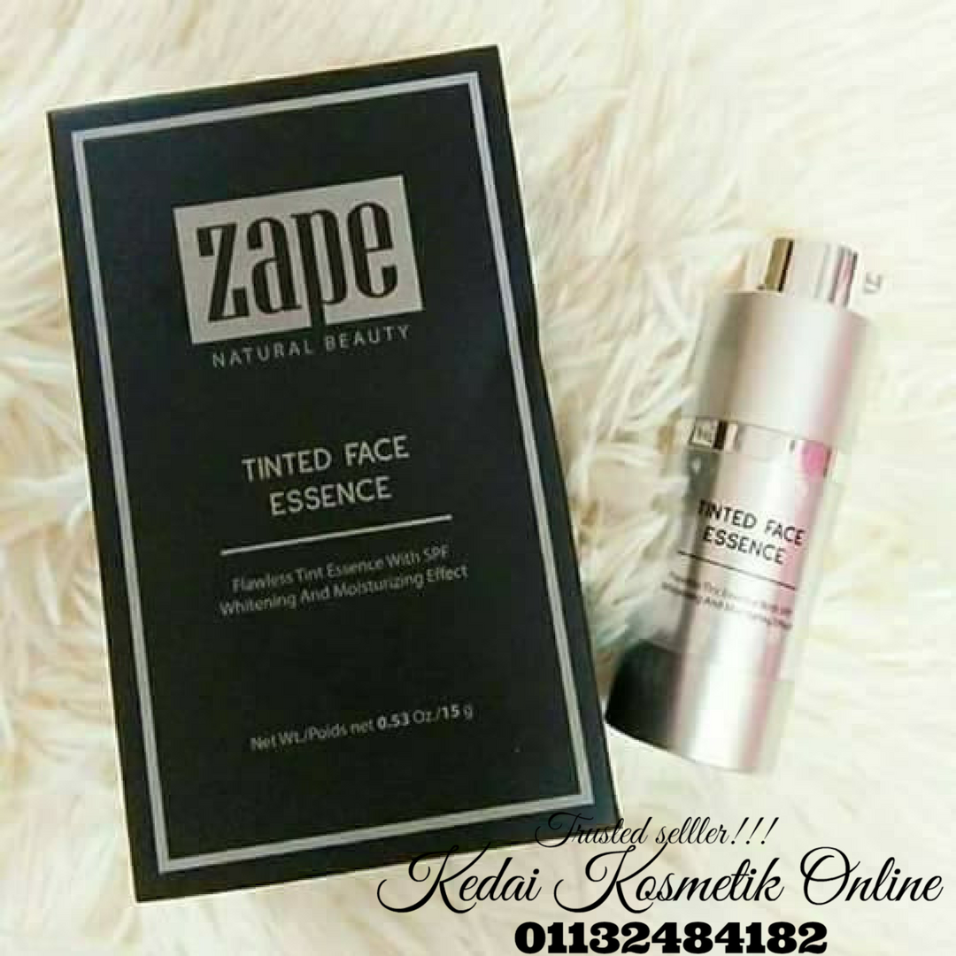 ZAPE NATURAL BEAUTY TINTED FACE ESSENCE