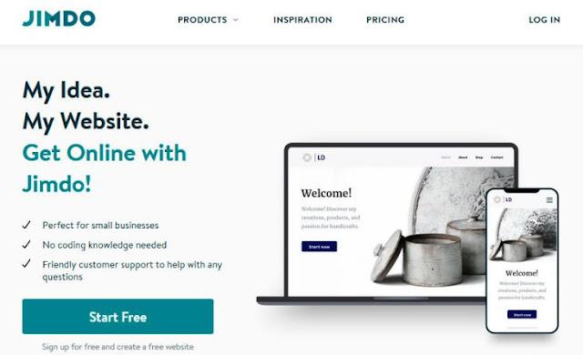 jimdo best new website builders