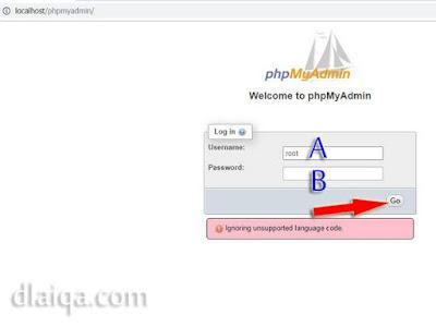 Instalasi phpMyAdmin pada Laragon