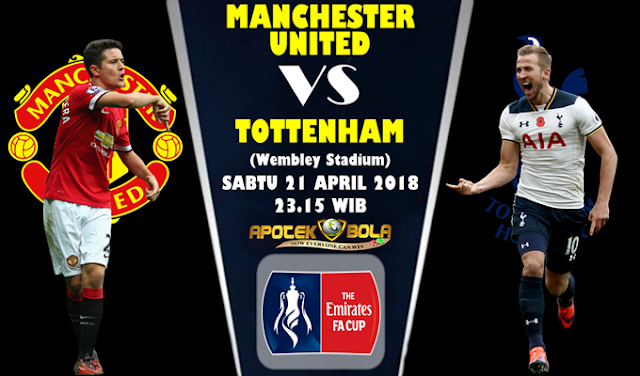Prediksi Manchester United vs Tottenham 21 April 2018
