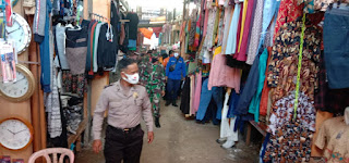 Patroli Masker Sasar Pasar, Polsek Alla Beri Sanksi Pelanggar