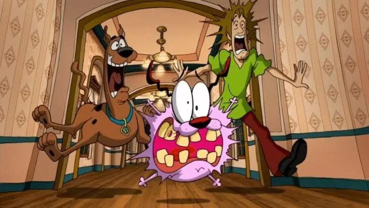 Scooby Doo y Coraje se unen en una película que es épica