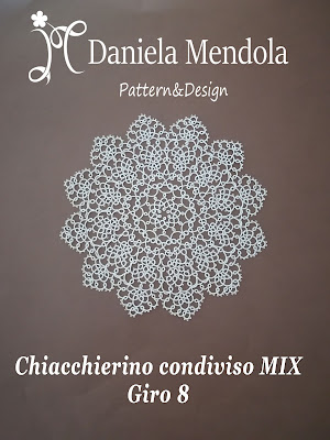 Tatting sharing MIX: round 8 - Chiacchierino condiviso MIX: giro 8