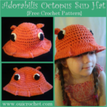 Adorabilis Octopus Toddler Sun Hat