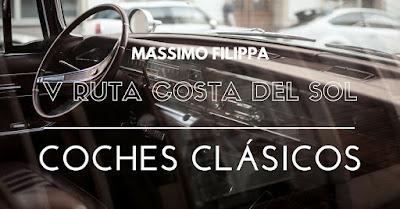 V Ruta Internacional Costa del Sol de coches clásicos - Massimo Filippa Marbella