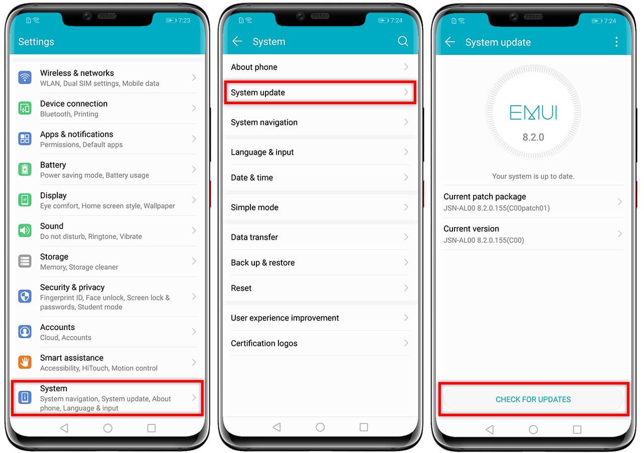 Como actualizar Huawei Honor 8X