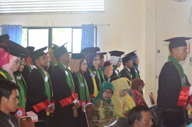 123 Mahasiswa STIT Muhammadiyah Abdya di Wisuda
