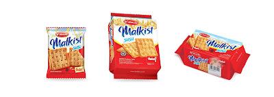 Varian lain dari Kokola crackers yaitu malkist susu biskuit. Jika pada cream crackers butter memiliki keunikan rasa di mentega dan cream, biskuit malkist susu juga memiliki keunikan rasa enak dan lezatnya susu crackers.