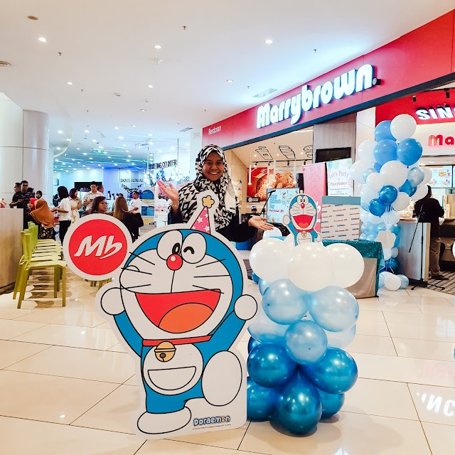 Marrybrown Launched Doraemon Birthday Bash in Conjunction with Children's Day.