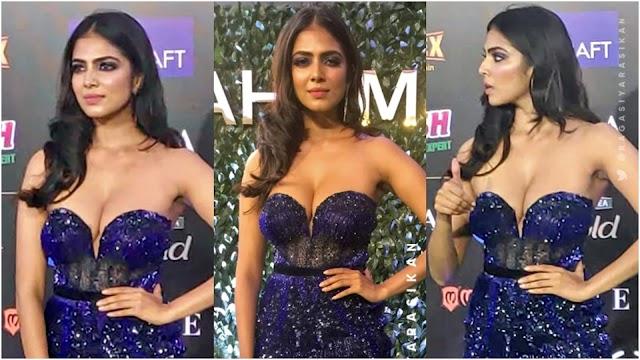 Actress Malavika mohanan ultra hot at IIFA 2019
