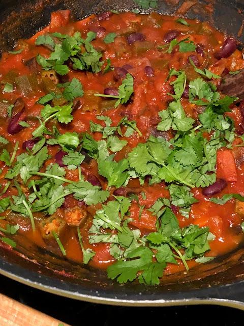 Chez Maximka, vegetarian meals with aubergines