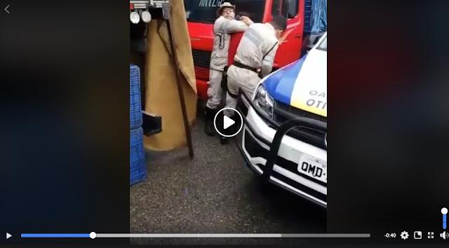 Agentes teriam recebido baforada de maconha antes de confusão em Itabaiana