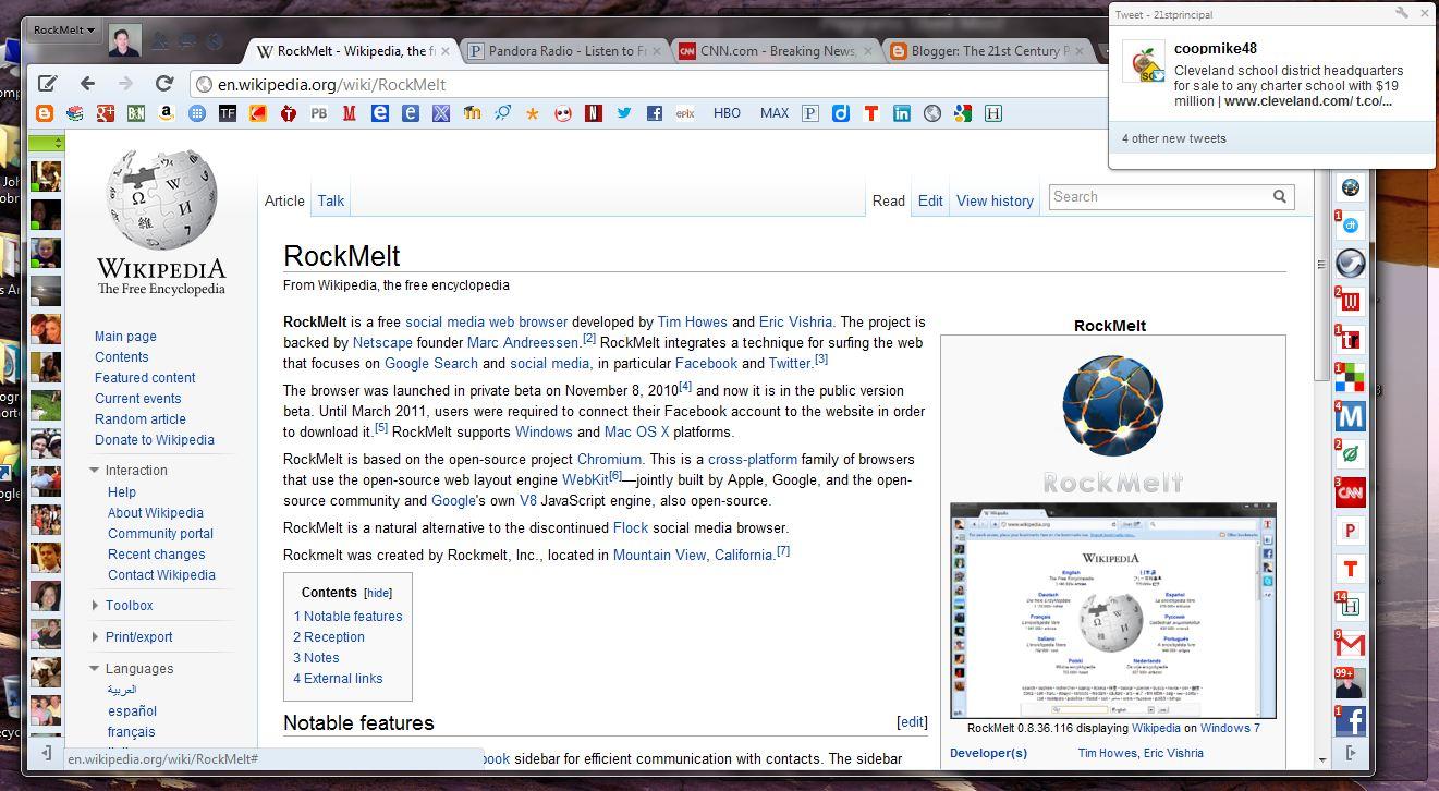 Rockmelt internet browser free download