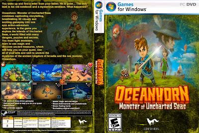 Jogo Oceanhorn - Monster of Uncharted Seas PC DVD Capa