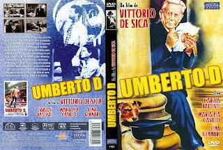 Carátula dvd: Umberto D (1952)
