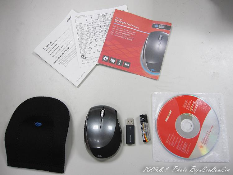 超好用無地形限制且超長時效之微軟藍光滑鼠