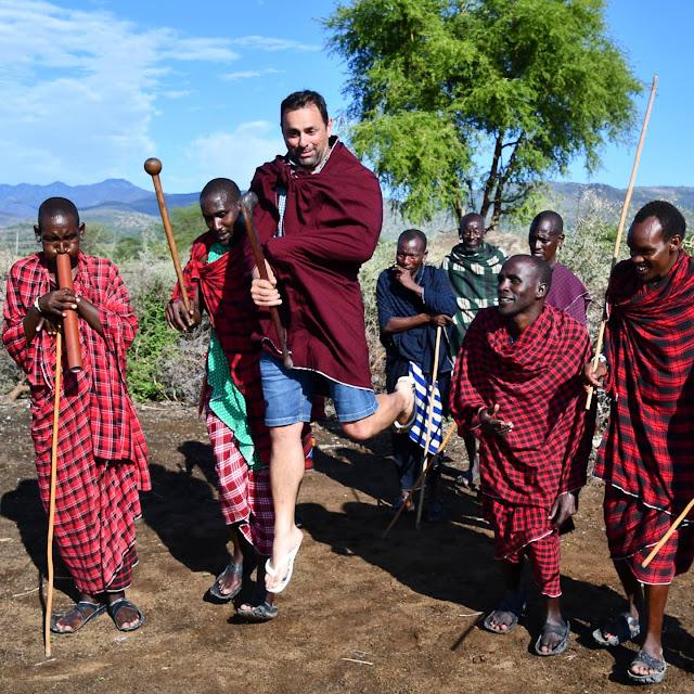 Vídeo de viagem pela Tanzânia