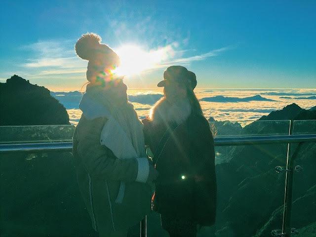 Ngoài lên Sapa ngắm tuyết thì tuyệt vời hơn đứng trên Fansipan ngắm hoàng hôn 13