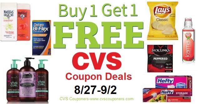 21 Bogo Free Coupon Scenario Deals At Cvs 8 27 9 2 Cvs Couponers