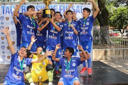 Confiança é campeão da Taça Brasil de Futsal Sub-15