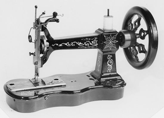 Singer sewing machines, Letter A model 1859