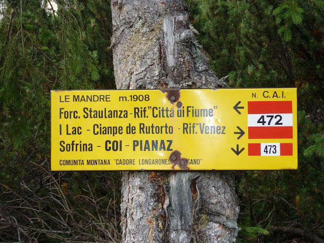 escursione rifugio venezia