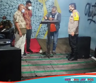 Mahasiswa Papua se-Jateng Tolak Miras, Kapolres Salatiga Dukung 5 Pernyataan Sikap Mahasiswa Papua