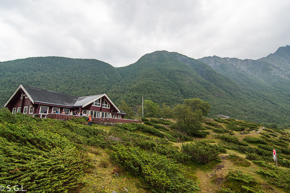 Alrededores del glaciar Svartisen. Noruega