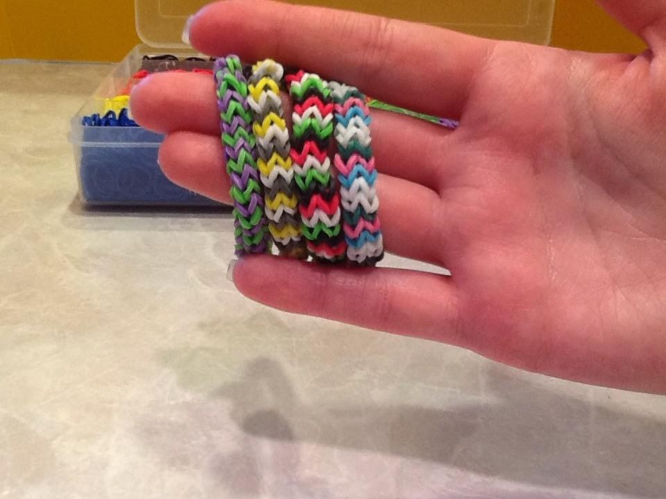rainbow loom patterns chevron rainbow loom pattern