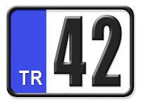 42 Konya plaka kodu