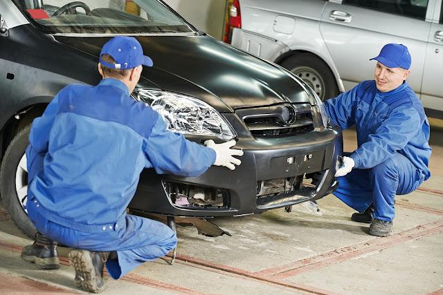 Car Crash Repairs Work