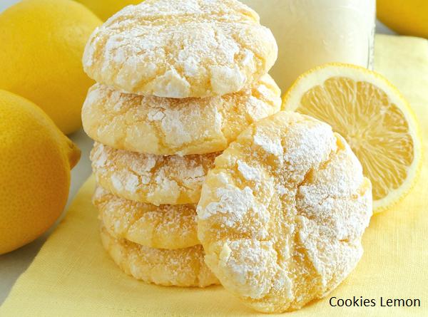Kue Kering Cookies Lemon